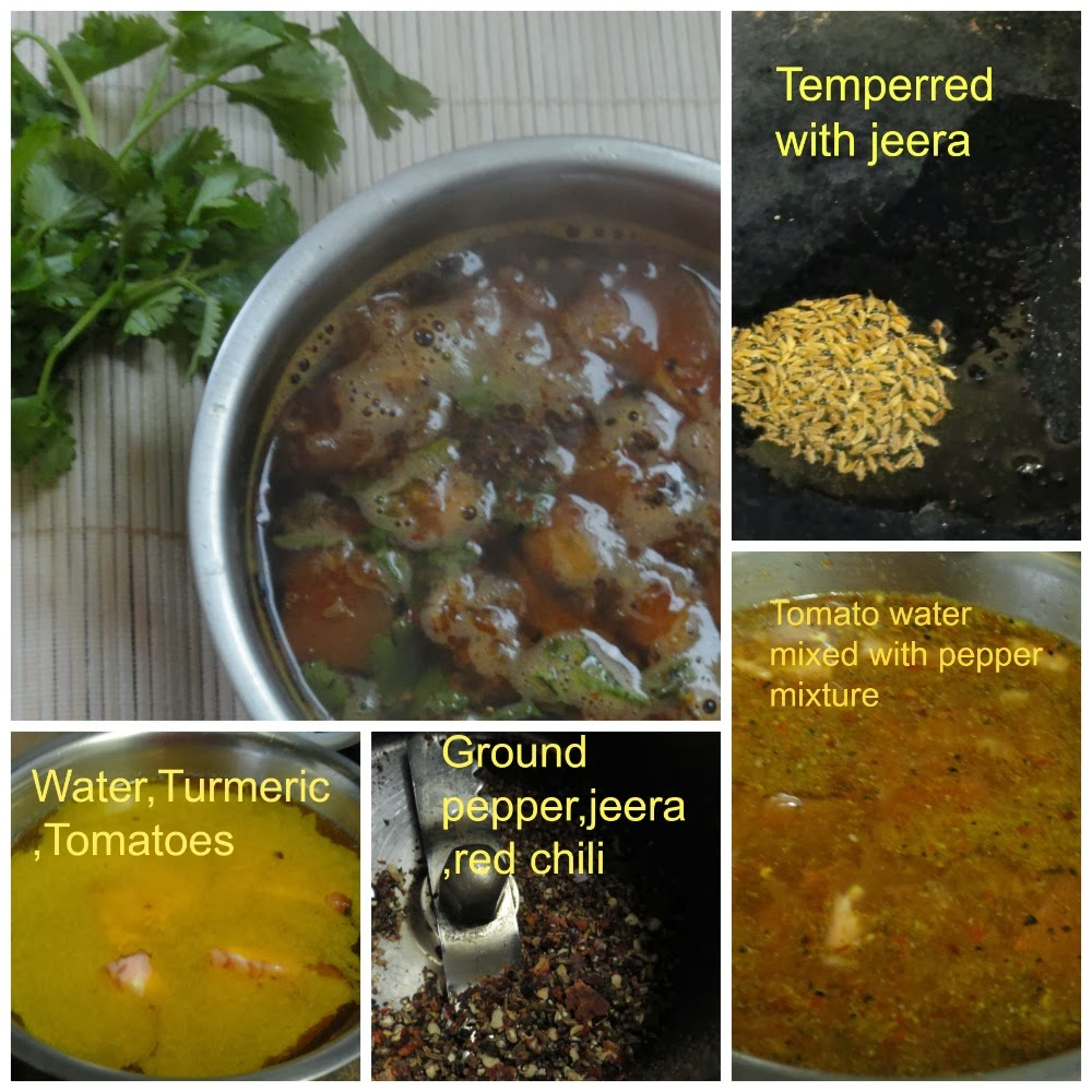 Steps to prepare rasam