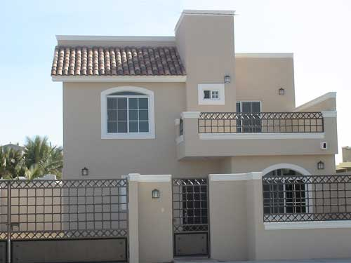Fachadas mexicanas y estilo mexicano hermosa residencia for Fachadas para terrazas de casas