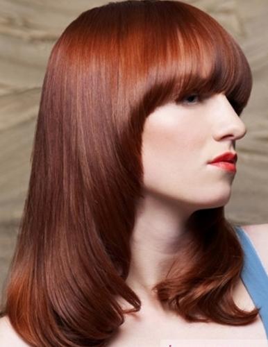 Pelo Color Rojo Naranja 2012 Hair Studio