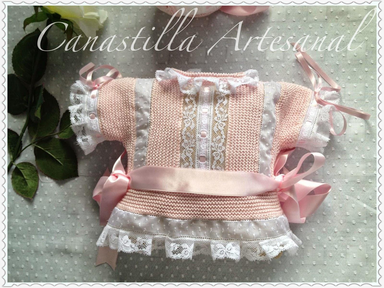 Canastilla artesanal modelo 49 - Canastilla artesanal bebe ...