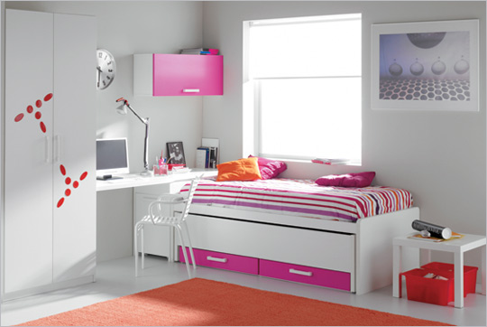 decoracao de interiores quartos femininos:Amizade Colorida: Casa Hudgens