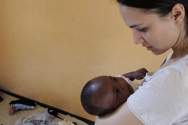 fra Miro Babić mali dom misija afrika sirotište volontiranje Lana Jurčević