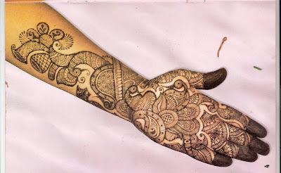 Bridal Mehndi Design Book : Bridal mehndi images designs for feet indian