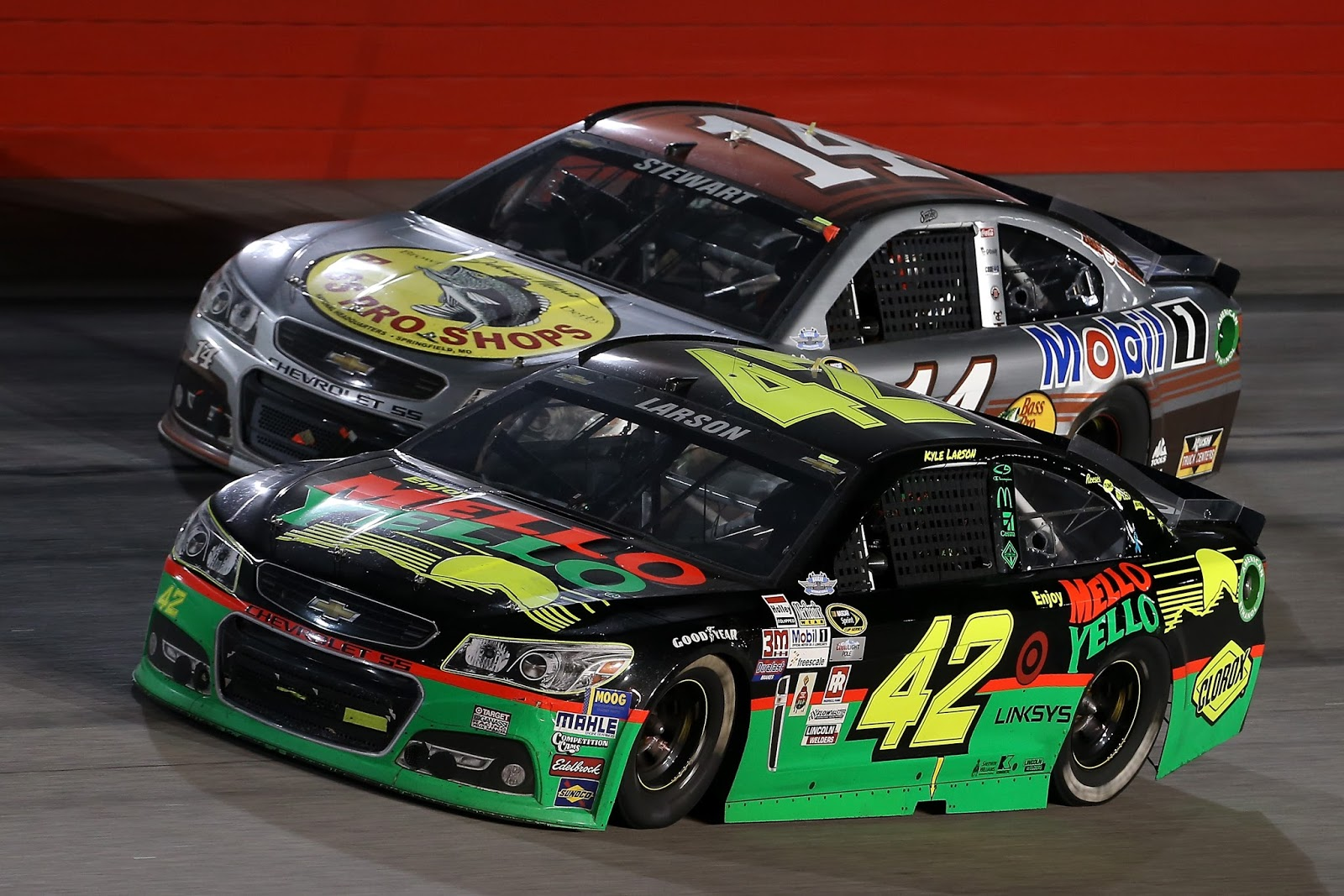Kyle Larsons No 42 Looked Like Pettys Old Car Getty