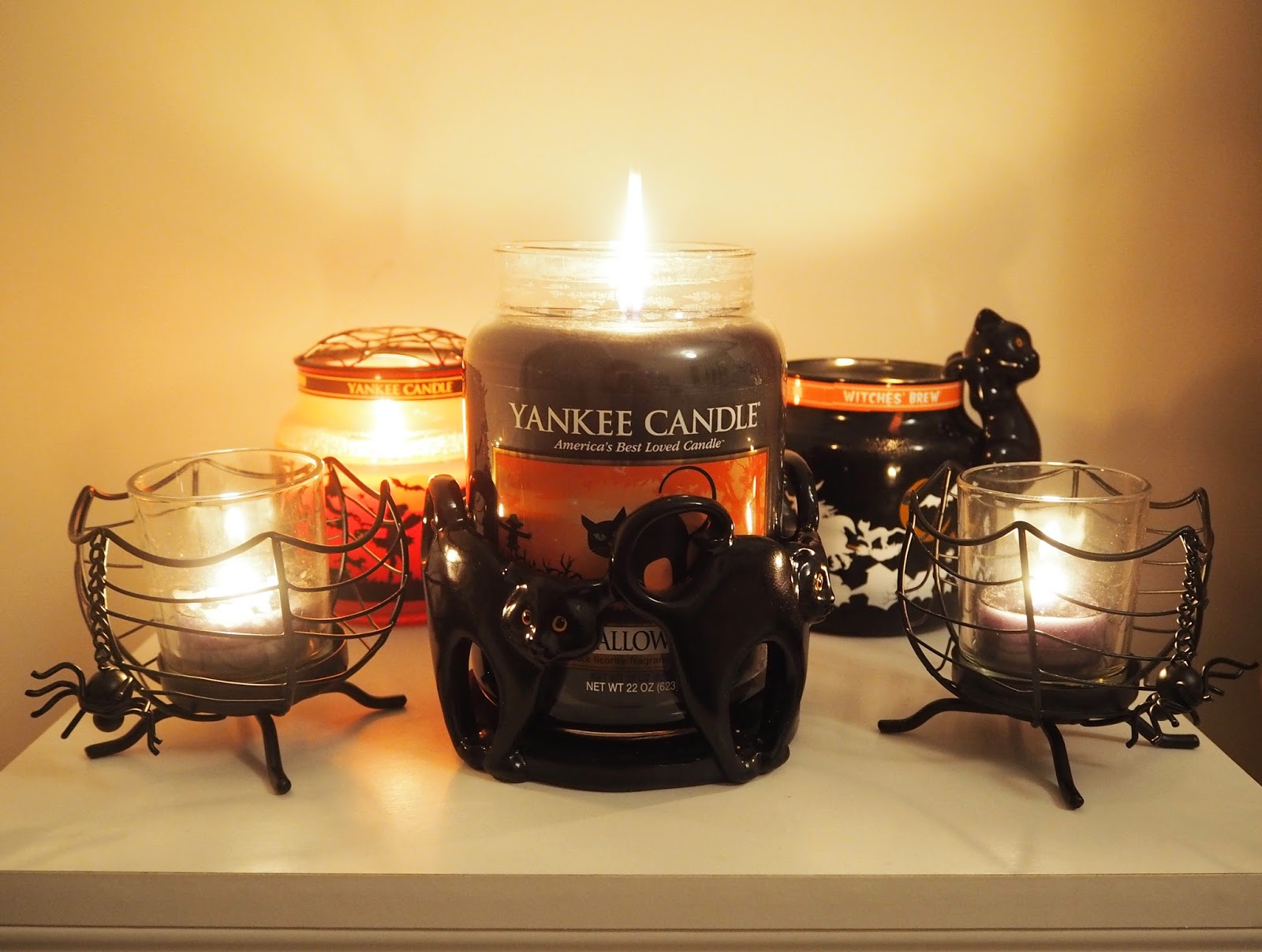 Yankee Candle Halloween Candle Collection   Katie Kirk Loves