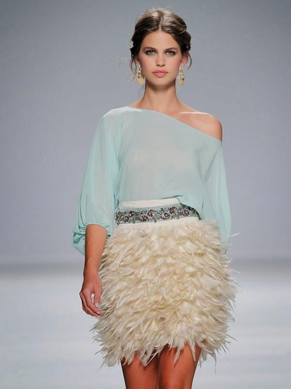 Matilde Cano, vestidos de plumas