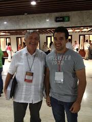 Con Hernan Fabio Lopez Blanco