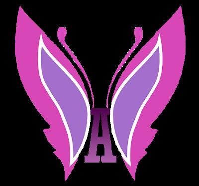 Ailee logo butterfly pink