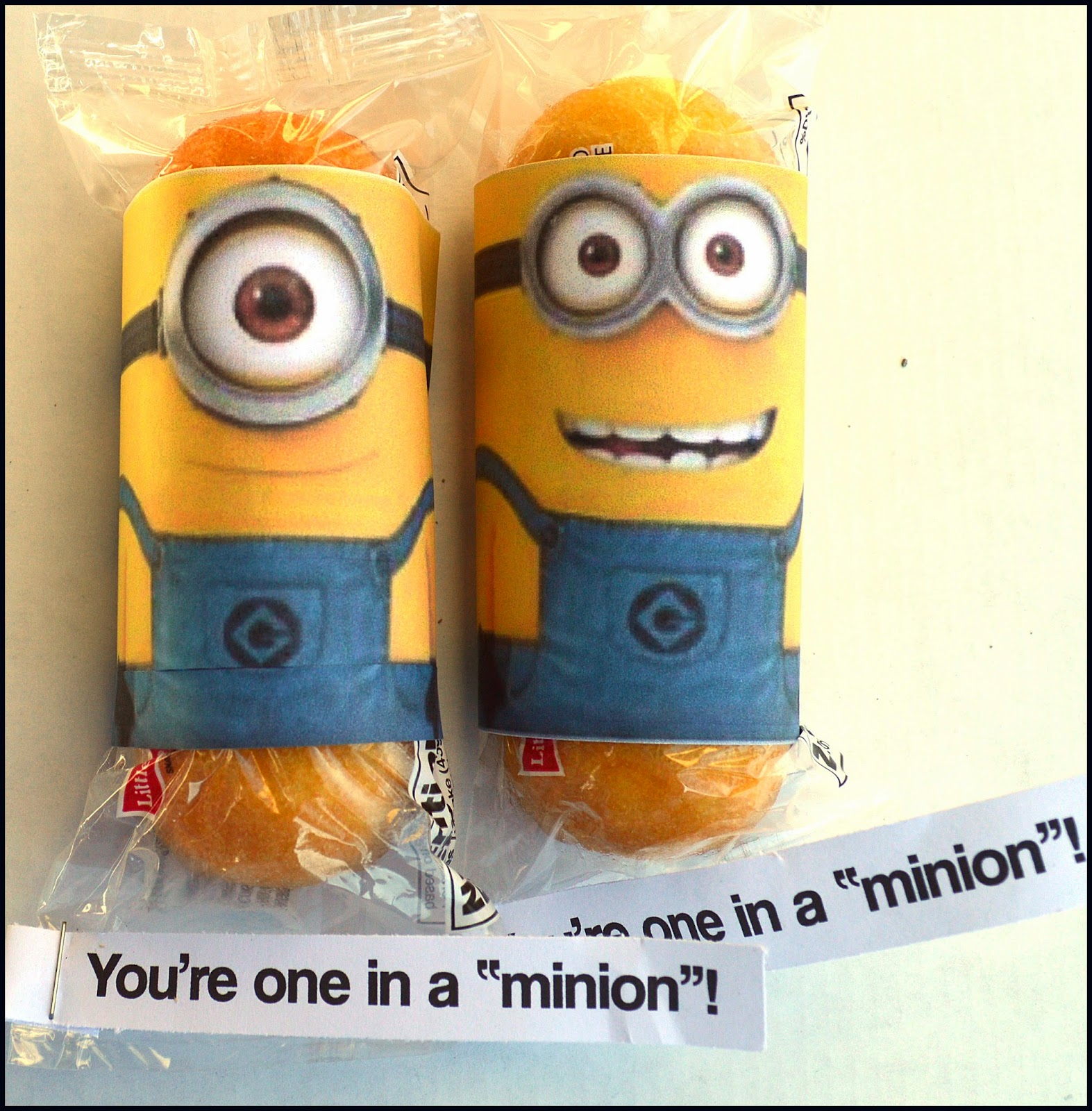 Minion Valentine Box - The Joys of Boys