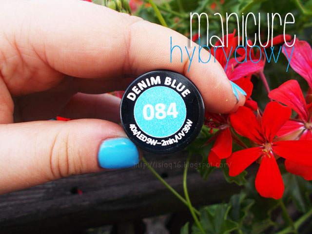 semilac denim blue 084