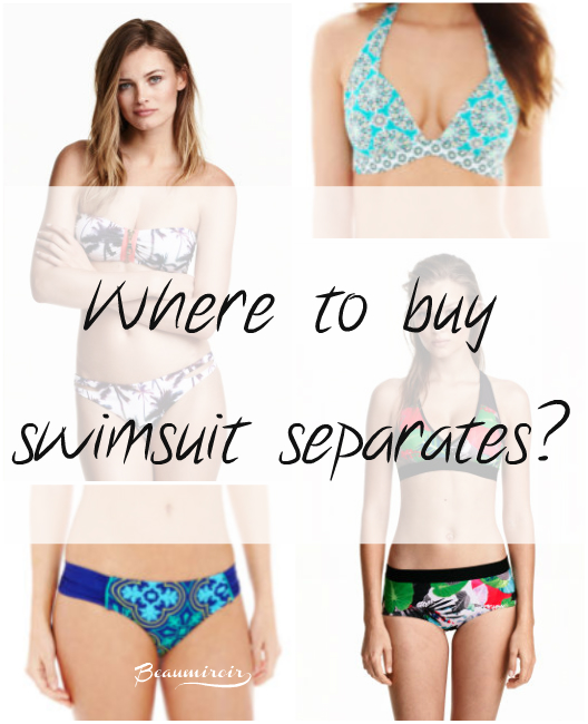Beach ready fashion: where to shop for swimsuit separates