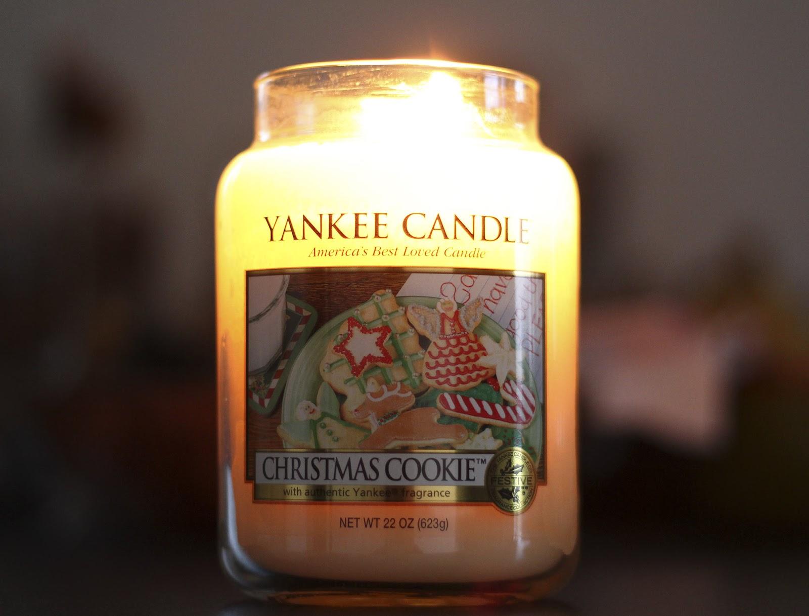 Christmas Cookie de Yankee Candle- Les bougies de chinouk