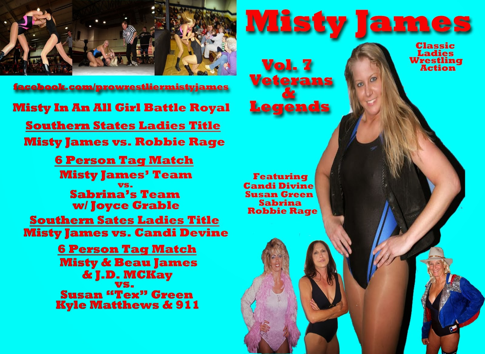 Misty Vol. 7 Vets & Legends