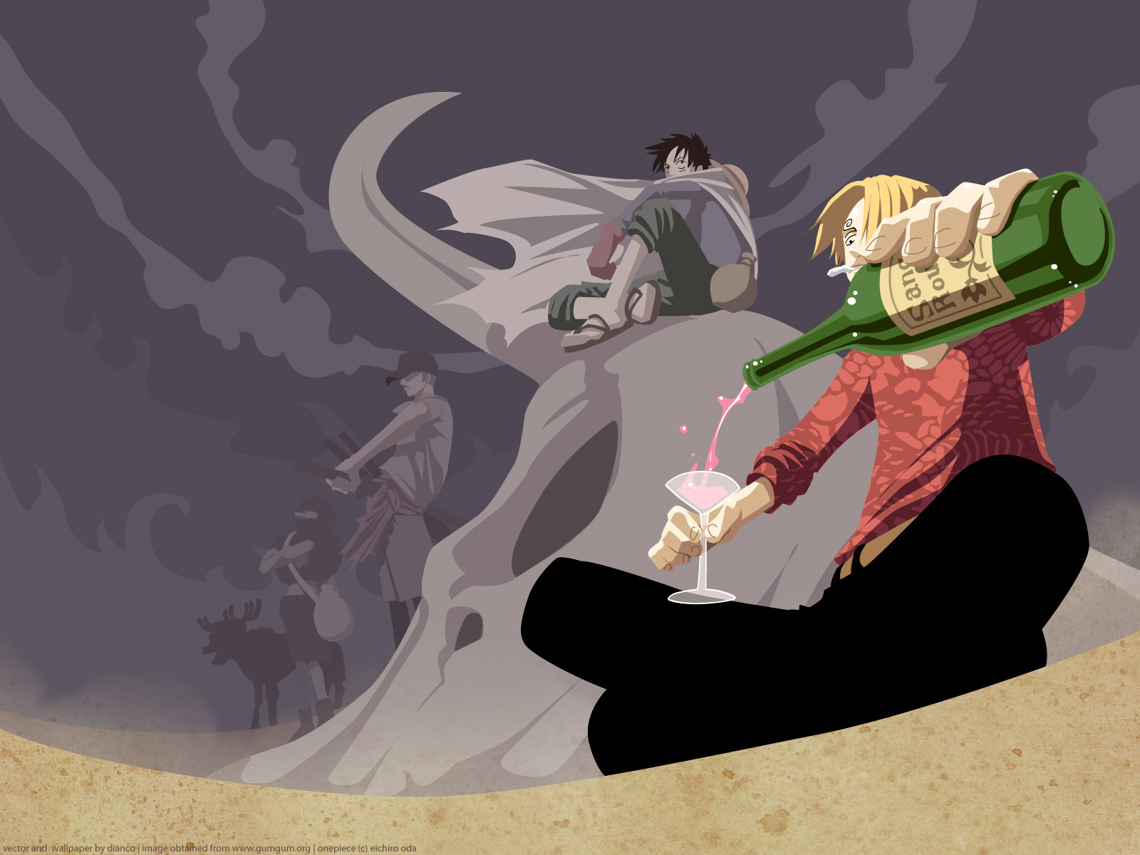 Sanji One Piece Wallpaper Strawhat Mugiwara Pirate