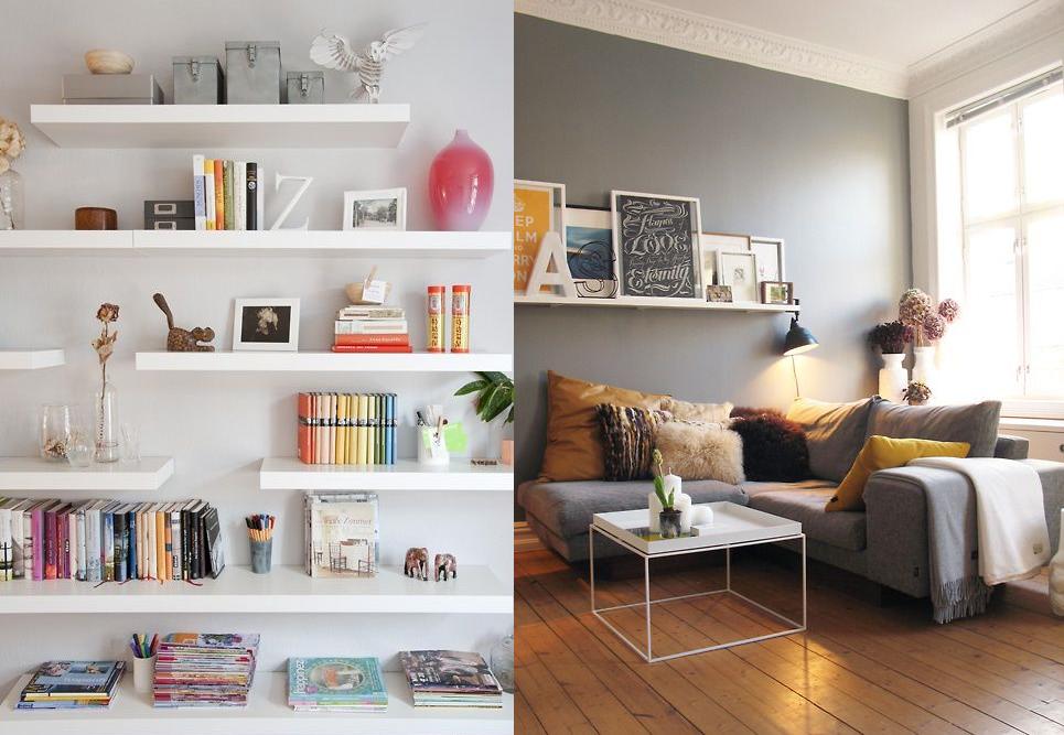 Un blog che vale interior design e home decor le mie fisse del momento for Mensola lack ikea