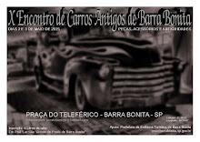 X Encontro de Carros Antigos de Barra Bonita-SP