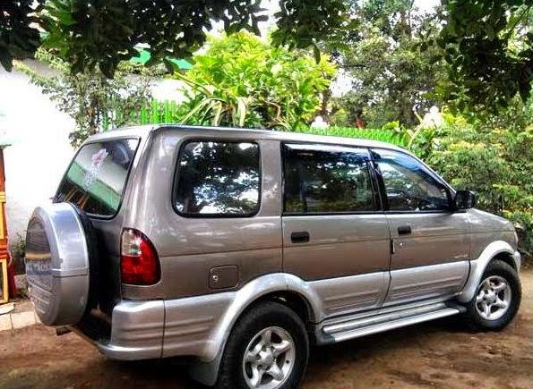 Isuzu Panther Sarung cover Ban Serep Mobil