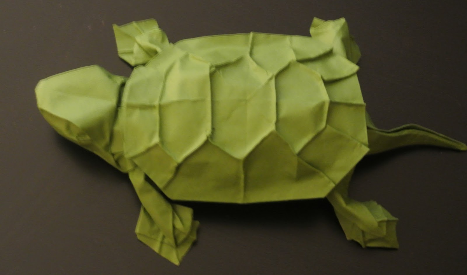 The Midnight Carver Wet Folding Cardstock Origami Turtle How To Fold An Samurai Sword It Has Its Own Set Of Flaws But I Really Only Folded Kill Time While Waited For My Methylcellulose Up