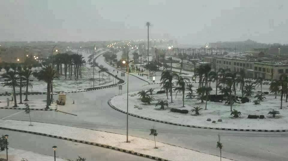 Cairo Egypt snow randommusings.filminspector.com