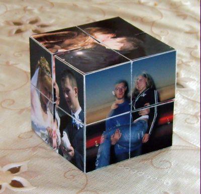 Куб с фотографиями своими руками 2