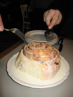 Huge Cinnamon Bun