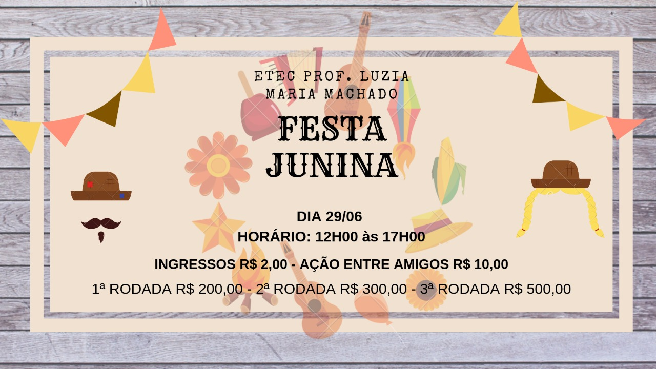 FESTA JUNINA #VemPraEtecAruja