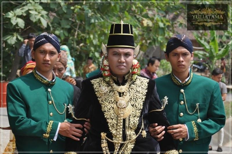 Paes Ageng Kanigaran, Rias Pengantin Adat jawa