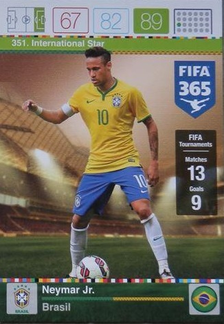 Signature Panini fifa 365-International Star Legend-tarjetas nº 332-378