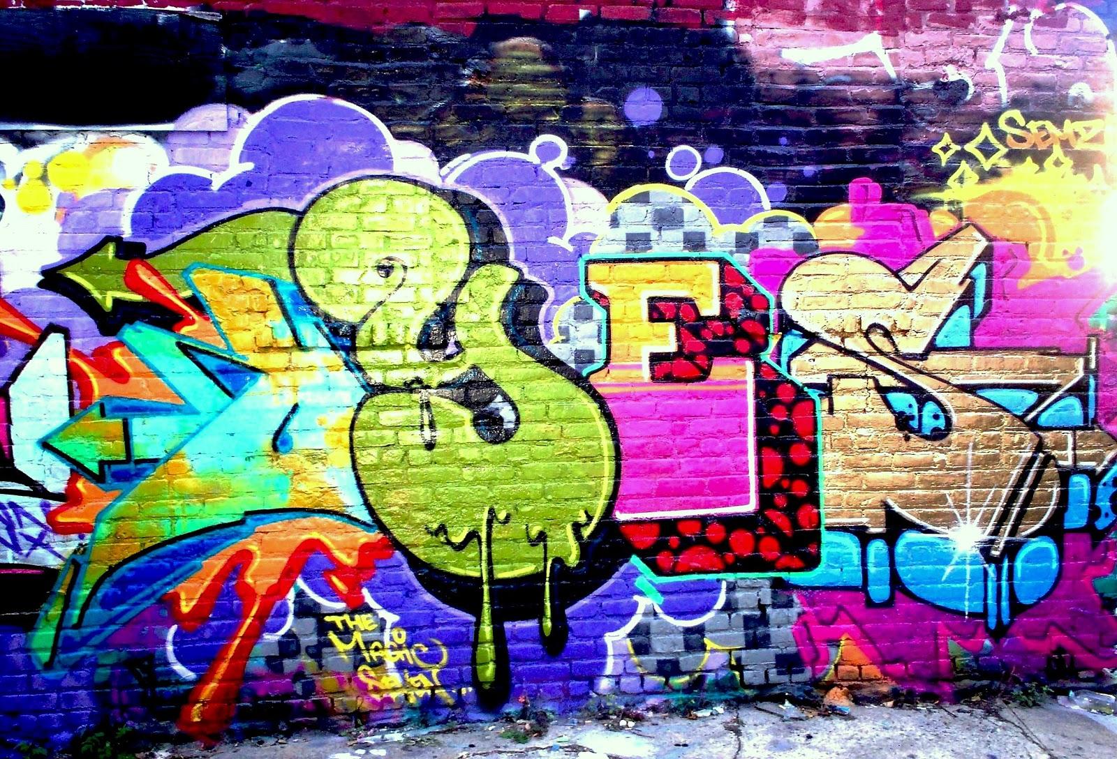 Wiki Graffiti: Graffiti Wallpaper