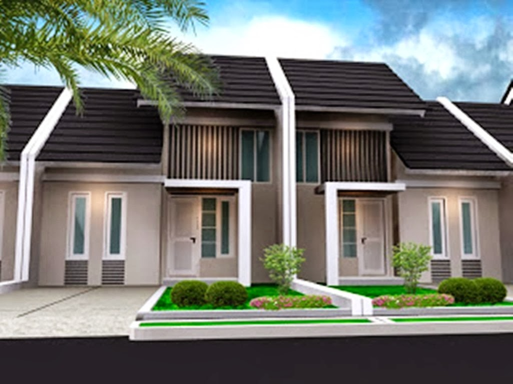 Inspirasi Desain Rumah Type 45  Contoh Disain rumah minimalis dan