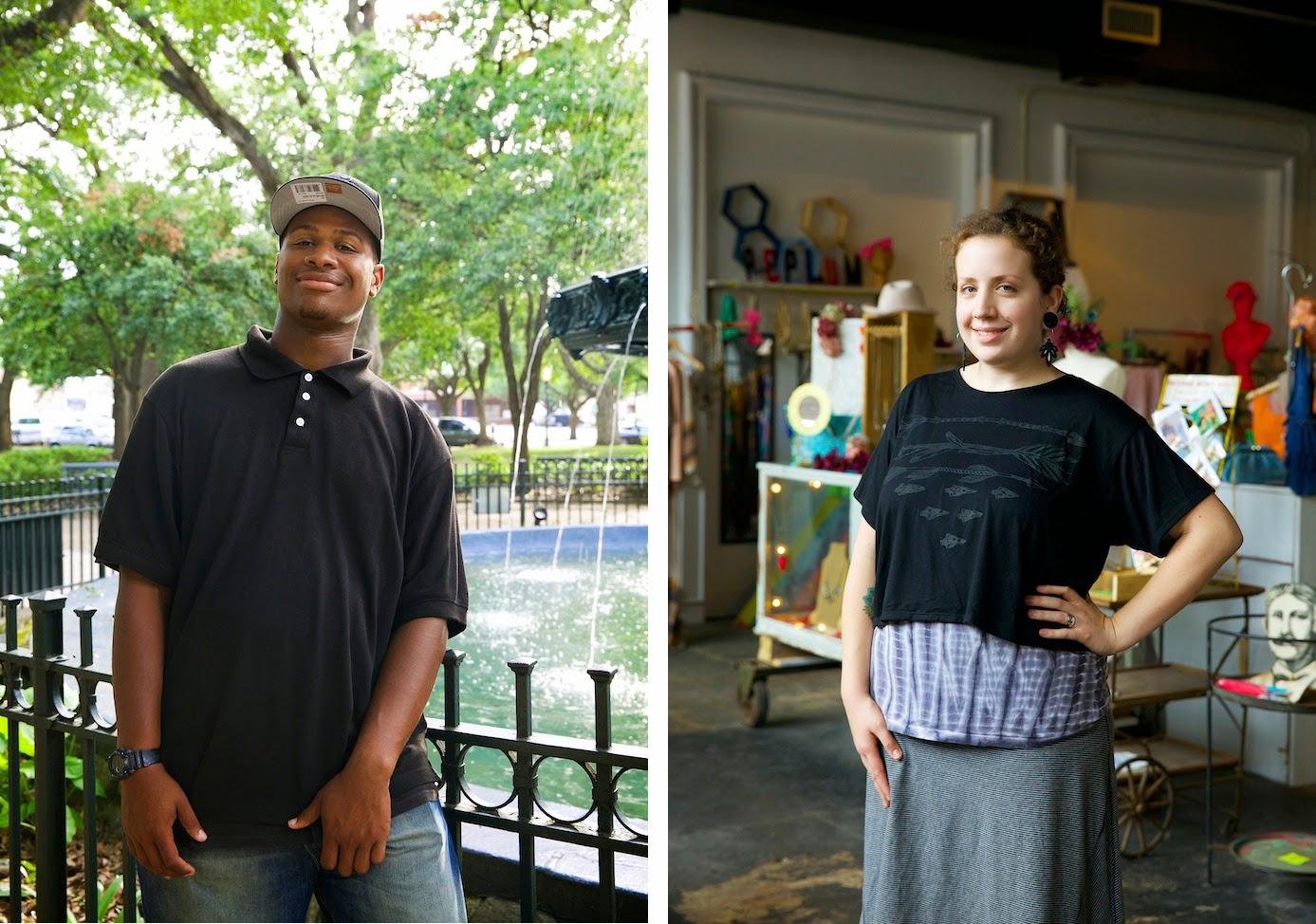 Faces of Alabama, George in Mobile and Anna at Harold and Mod in Birmingham, Angela DeCenzo.
