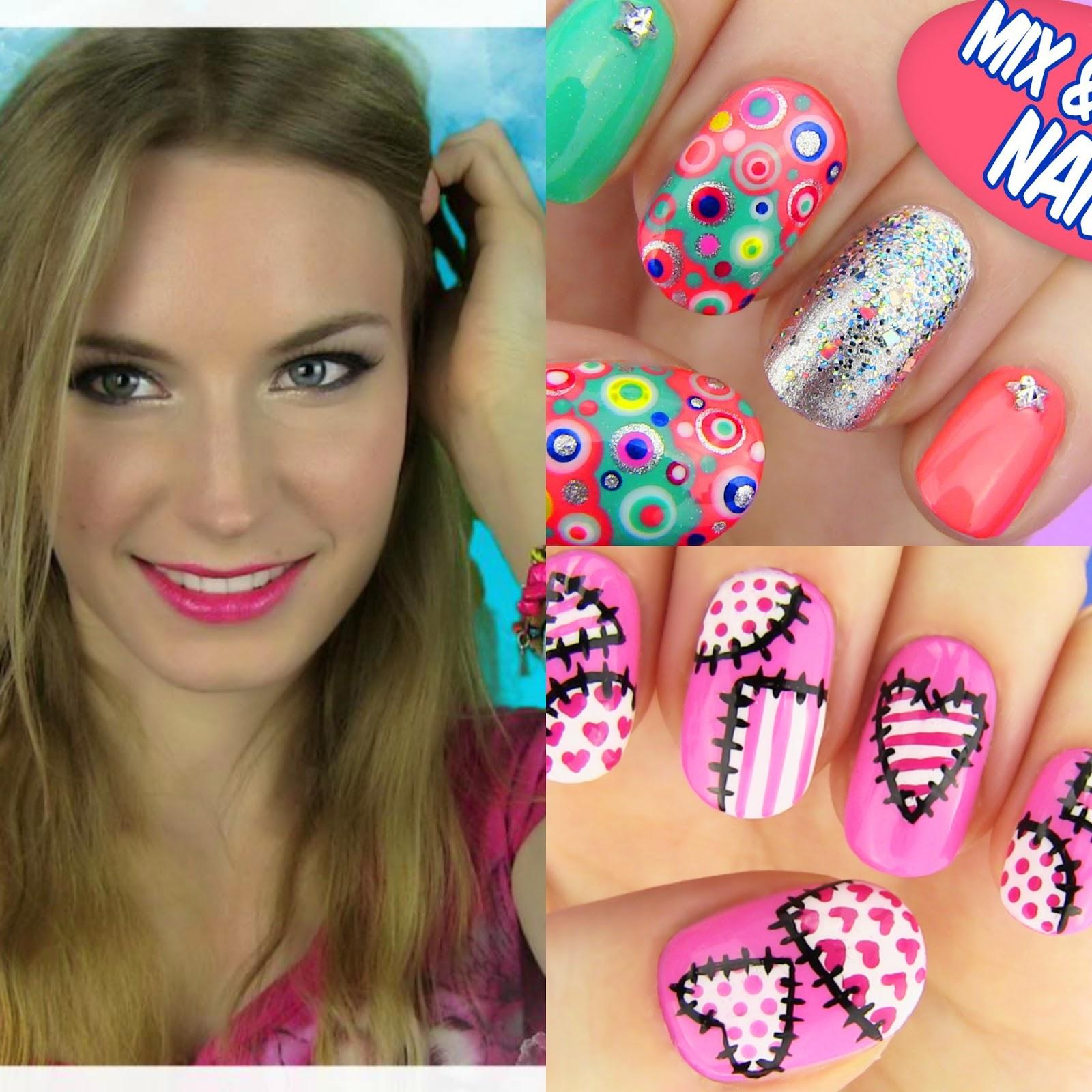 Sarabeautycorner Nail Art: Hi.Byeee: October 2014