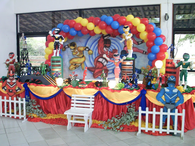 Festa infantil - Power Ranger