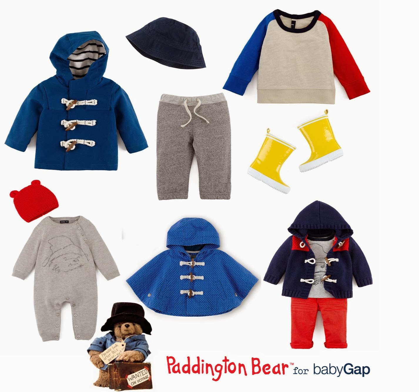 mamasVIB | V. I. BABY: The Paddington Bear collection finally arrives at Gap!, V. I. BABY | Paddington Bear comes to Gap | limited collection | baby gap | paddington bear | classic children's stories | new collection launching | mamasVIB