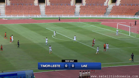 Kualifikasi Piala Dunia Asia Timor Leste vs UAE Live