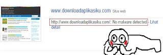 no malware detected