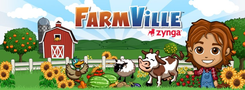 social games Farmville, Mafia Wars, CityVille or on mobile World with Friends