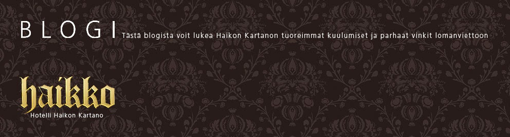 Haikon Kartanon blogi