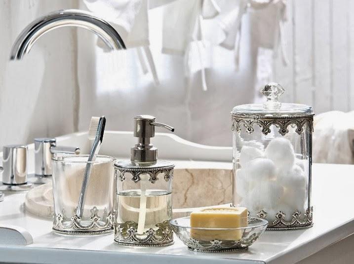 dekoratif banyo aksesuarları