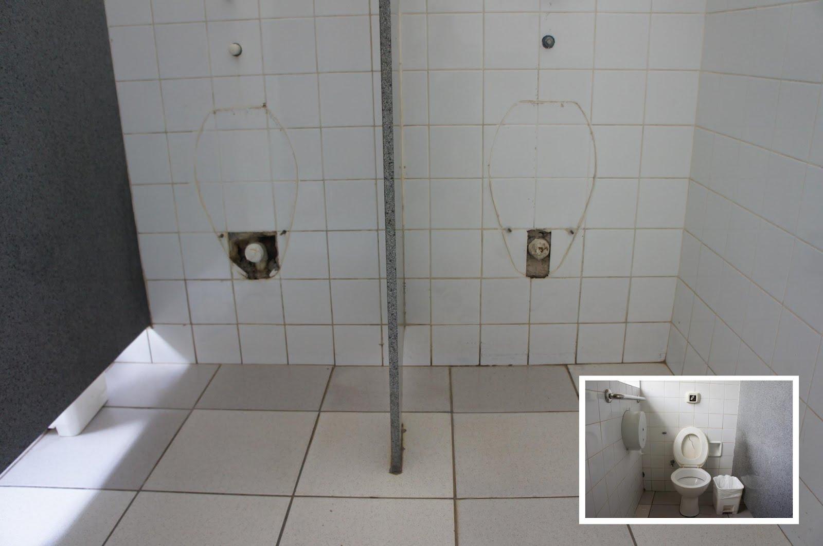 Imagens do Dia: Banheiro: Abandono na UPA do São Benedito #565975 1600 1063