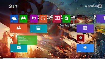 2013 Download Gear Of War Judgment Windows 8 Theme