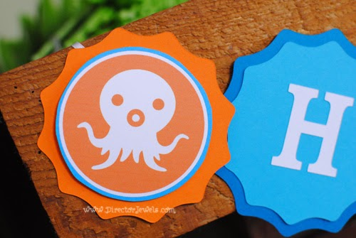 Octonauts Birthday Party Decoration Ideas | Under the Sea Ocean Decor at directorjewels.com