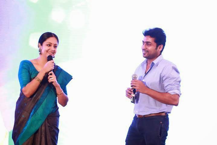 Surya And Jyothika At 36 Vayadhinile Audio Launch Stills