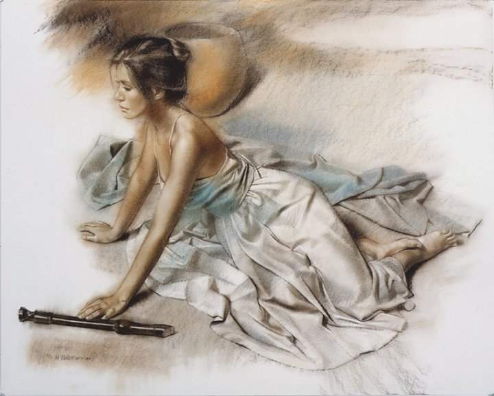 William Whitaker 1943 | American Figurative painter | Drawing