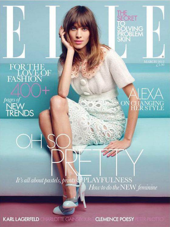 Alexa Chung para Elle UK