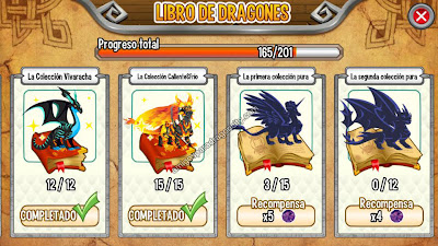 imagen de las colecciones del libro de dragones de dragon city ios_1