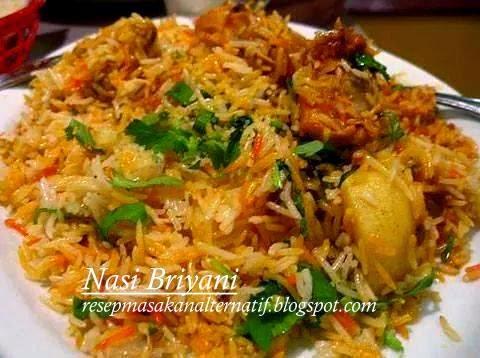 Resep Dan Cara Membuar Nasi Biryani/Briyani Ayam