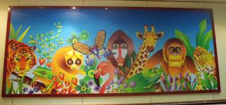 singapore zoo illustrate