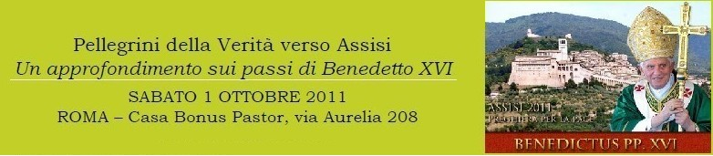 Pellegrini della Verità verso Assisi