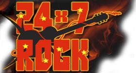 Radio 24x7 Rock online